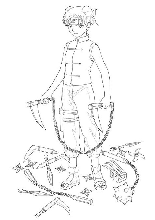 The-Tenten-with-Her-Weapons