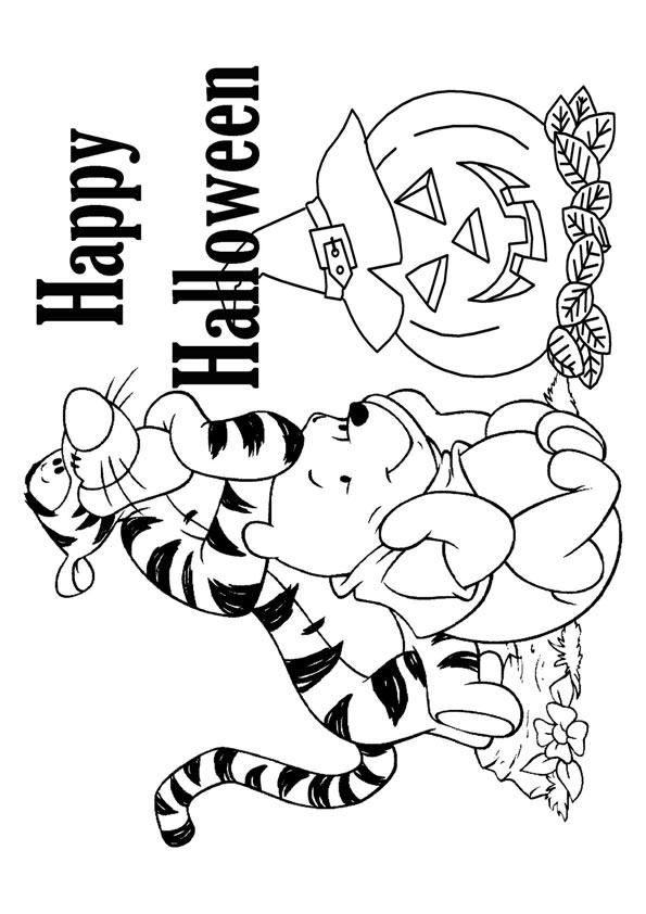 The-Tigger-Winnie-The-Pooh-And-Halloween-Pumpkin