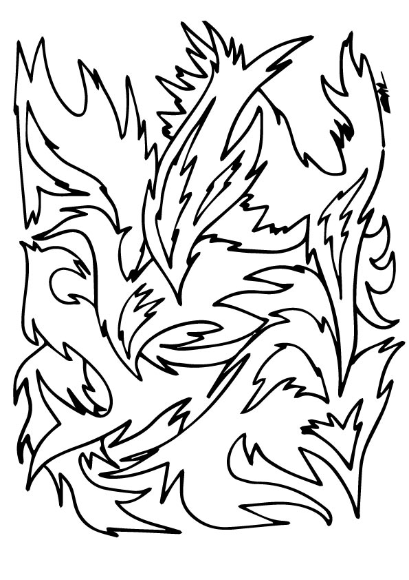 The-a-bstract-Feather-a-Pattern-color