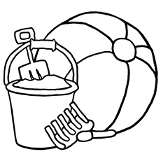 760 Beach Ball Coloring Pages Free Download Free Images