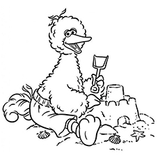 top 25 free printable big bird coloring pages online