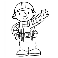 bobthebuilder coloring pages - photo#5