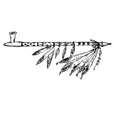 Calumet Pipe Coloring Pages
