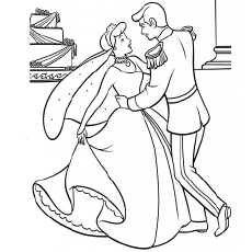 the cinderella dancing with the prince