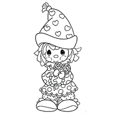 Top 10 Free Printable Funny Clown Coloring Pages Online