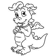 Top 25 Free Printable Dragon Tales Coloring Pages Online