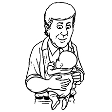 The-father-with-the-baby