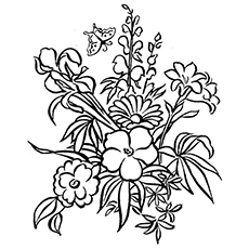 Top 35 free printable spring coloring pages online spring flowers are beautiful to color mightylinksfo