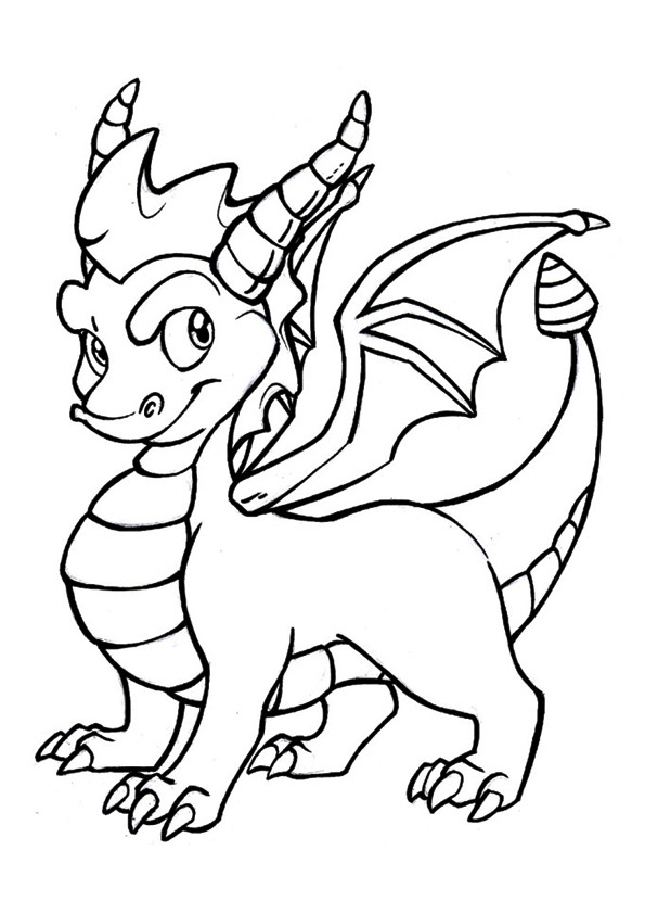 The-friendly-horned-dragon