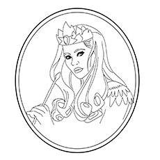 The Glinda Picture to Color