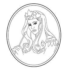 The Glinda Picture to Color