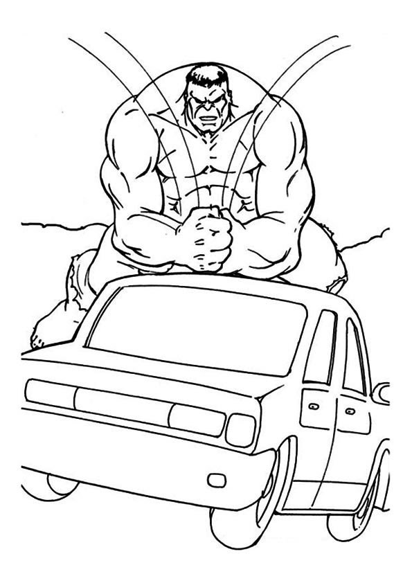 The-hulk-crushing-the-car
