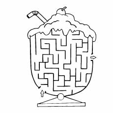 The-ice-cream-maze game