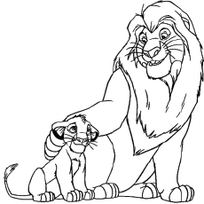Kiara Coloring Page to Print