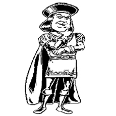 the lord farquaad - Shrek Coloring Pages