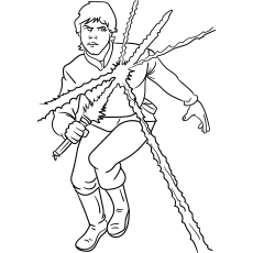 Luke Skywalker Coloring Pictures to Print