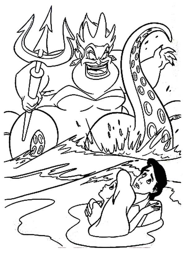 The-mermaid-wrathful-ursula