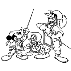 The Mickey Donald And Goofy Three Musketeers