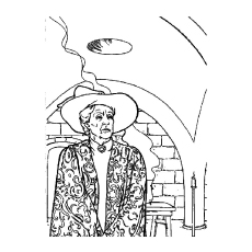 minerva mcgonagall - Harry Potter Coloring Pages