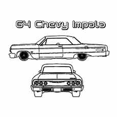 The-muscle-chevy-impala