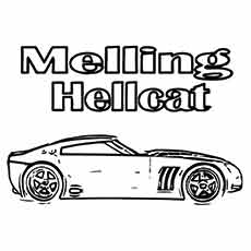the muscle melling hellcat