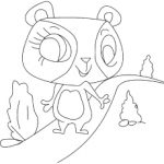 The penny Ling coloring pages