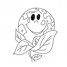 The Plant Trees coloring pages