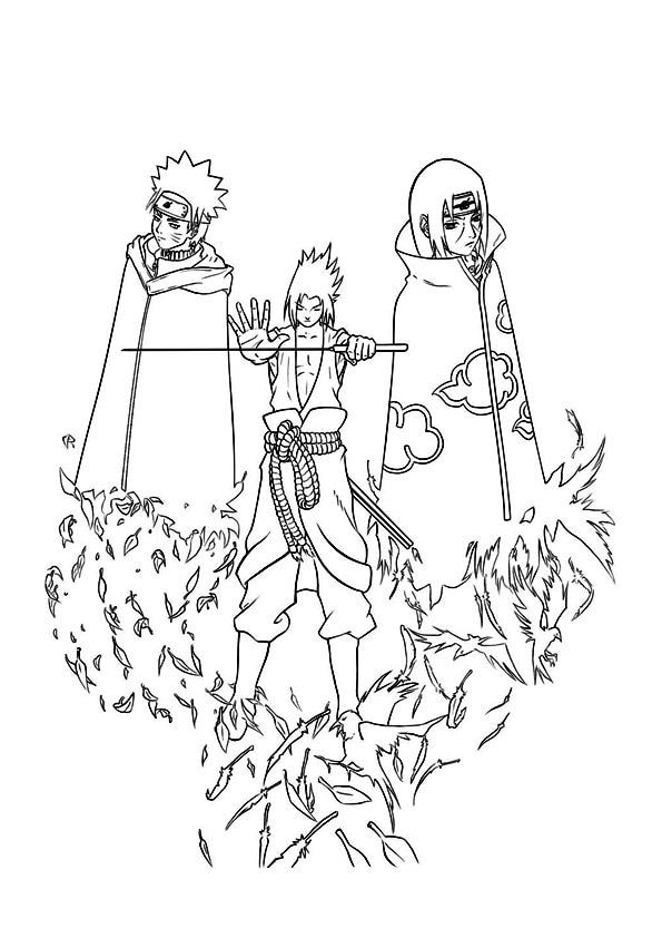 The-sasuke-itachi-and-naruto