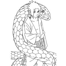 Naruto Coloring Pages - Free Printable Coloring Pages at ... | 230x230