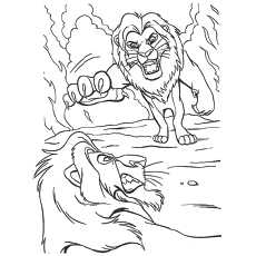 Scar Roar of the Elders Coloring Pages