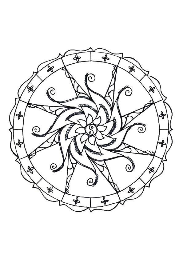 The-simple-mandala-design