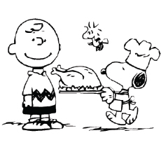 The-snoopy's-turkey