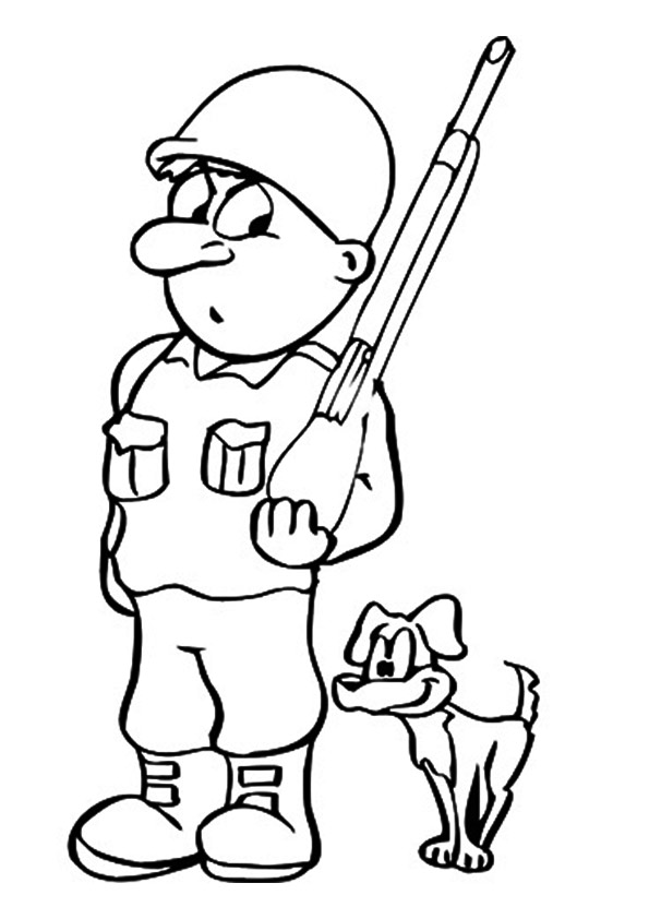 The-soldier-and-his-dog
