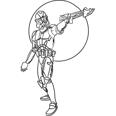 Storm Troopers Coloring Pages to Print