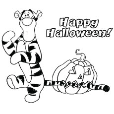 Top 25 Free Printable Tigger Coloring Pages Online