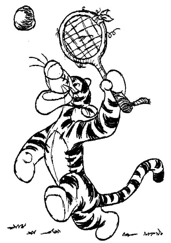 The-tigger-trying-his-hand-at-badminton