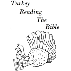 The-turkey-reading-the-bible