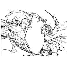 Voldemort Coloring Page