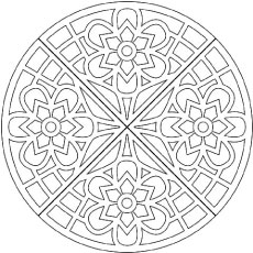 Waffle Iron Design Coloring Pages