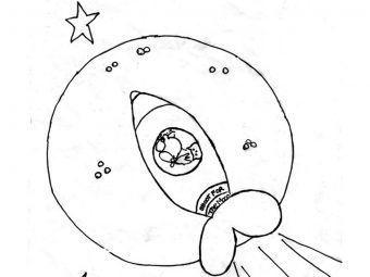 Top 10 Moon Coloring Pages For Your Toddler