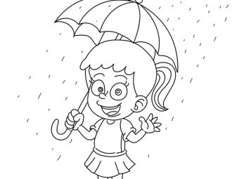 Top 10 Rain Coloring Pages For Your Little Ones
