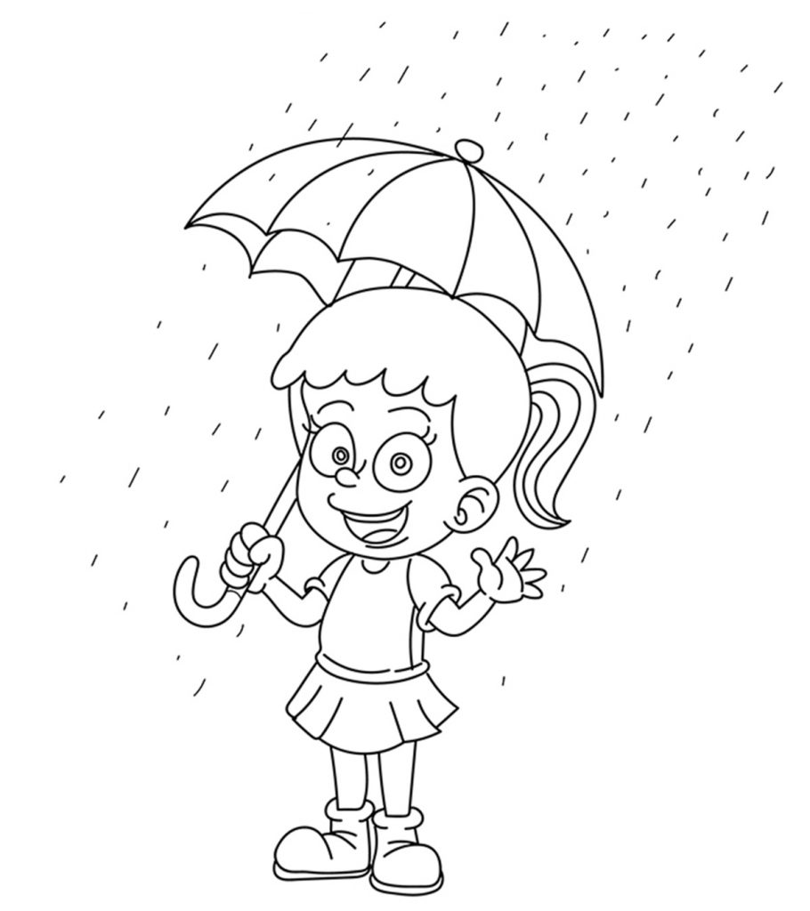 10 ticks calculator coloring book pages | Top 10 Free Printable Rain Coloring Pages Online