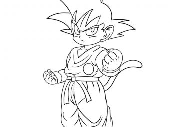 Top 20 Dragon Ball Z Coloring Pages Your Toddler Will Love