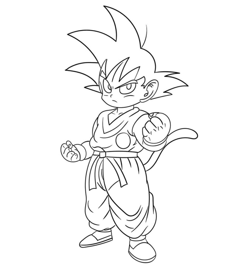 coloring pages dragonballz - photo#3