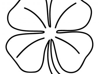 Top 20 Four Leaf Clover Coloring Pages For Toddlers