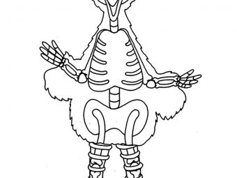 Top 25 Colorful Big Bird Coloring Pages For Your Little One