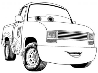 Top 25 Colorful Cars Coloring Pages For Your Little One