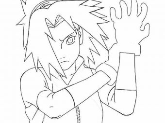 Top 25 Naruto Coloring Pages For Your Little Ones