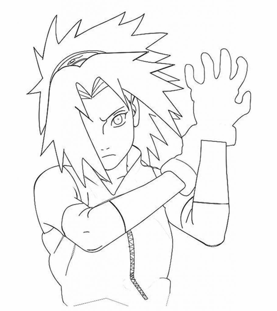 Naruto #89 (Cartoons) – Printable coloring pages | 1024x910