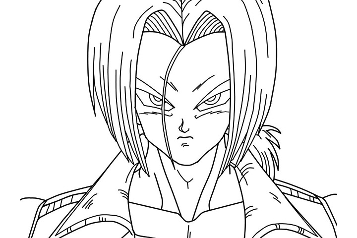 Dragon Ball Z Coloring Book Online : Dragon ball z coloring pages trunks klejonka
